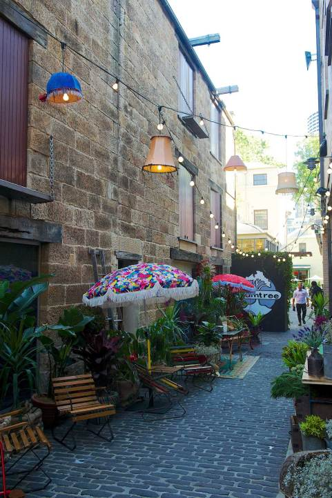 Gumtree Garden Pop-Up Bar, Designed by Yellowtrace | Outdoor Laneway