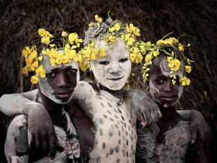 Karo Tribe, Ethiopia. Photo by Jimmy Nelson | Yellowtrace