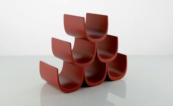Noe wine rack by Giulio Iachetti for Alessi | Yellowtrace