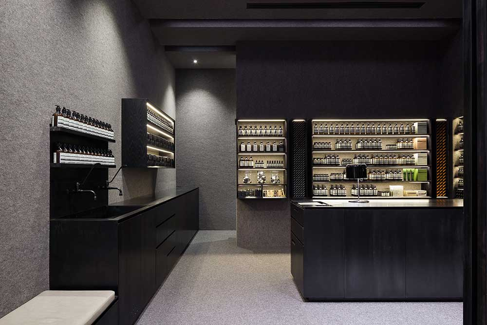 Tour Of Aesop Stores Around The World Yellowtrace
