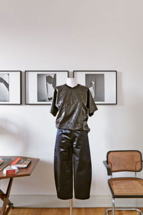 Arthur Arbesser Fashion Collection Shown at Architect Luca Cipelletti's Milan Apartment | Yellowtrace