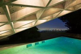 Sheats Goldstein House by John Lautner | Yellowtrace