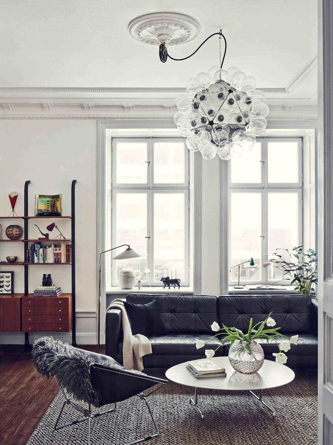 Apartment Einrichtung Joanna Laven S Stunning Stockholm Apartment Yellowtrace