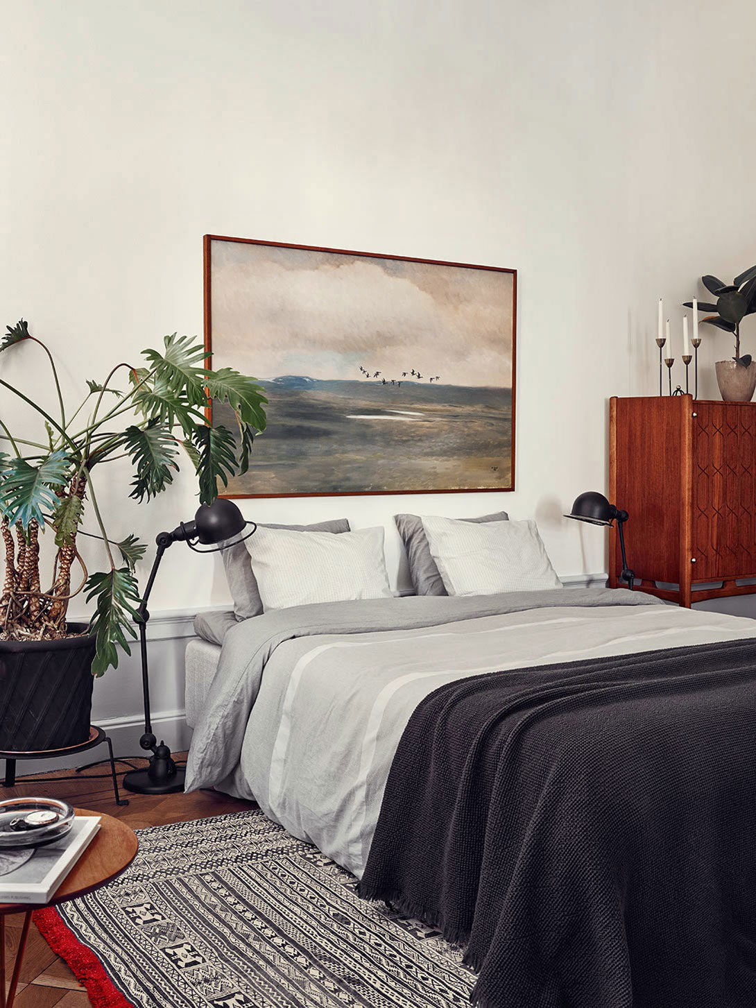 Camera Da Letto Hipster Joanna Laven S Stunning Stockholm Apartment Yellowtrace