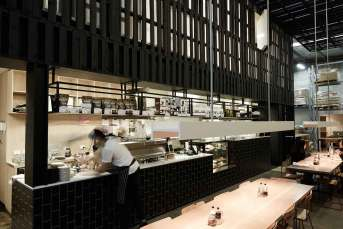 Beans Café & Roastery by Figureground Architecture in Melbourne   Yellowtrace