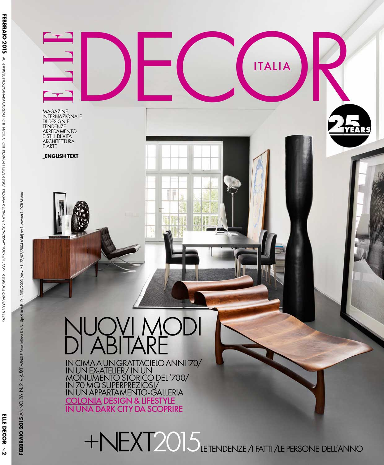 Elle Decor Italia Dana Tomic Hughes Yellowtrace Interview In Elle Decor Italia