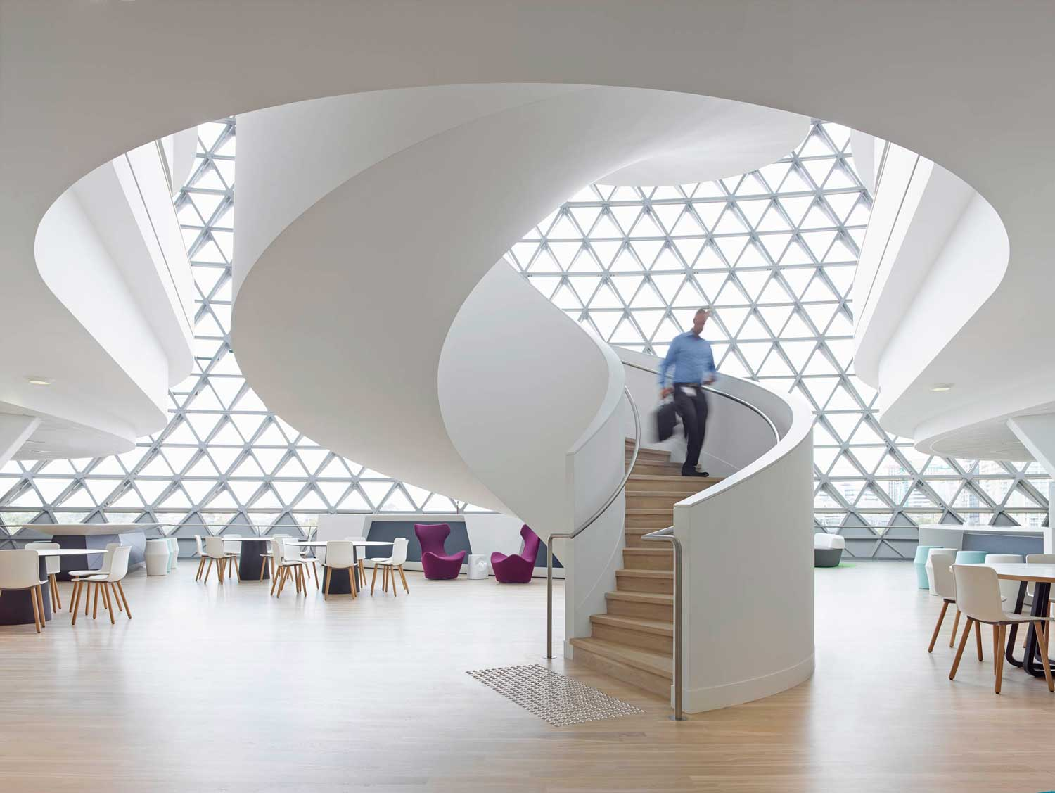 Sahmri research institute by woods bagot yellowtrace for Interior architecture adelaide