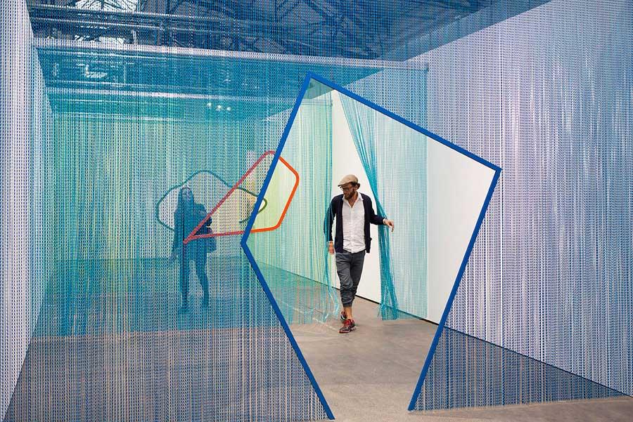 Steel Curtain Installations By Daniel Steegmann Mangrane