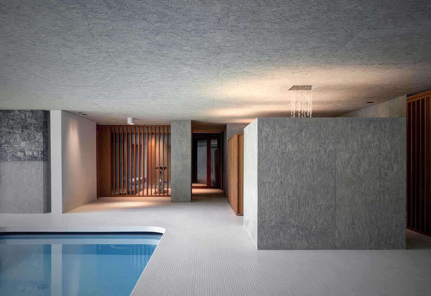 Luxury Indoor Swimming Pool By Act Romegialli - Indoor Schwimmbad