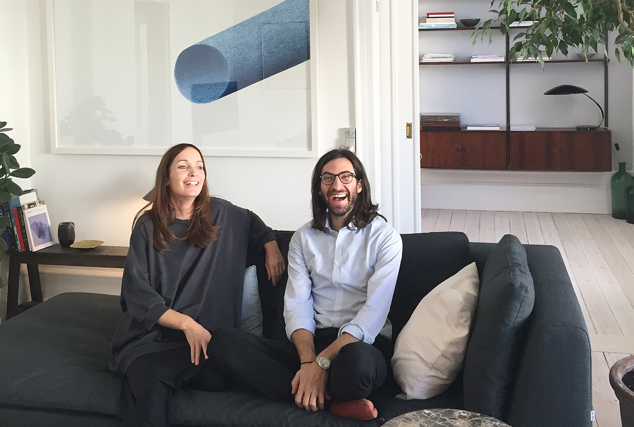 Architect Valencia At Home With Gamfratesi In Copenhagen.