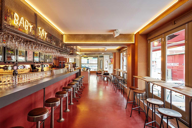 Bar basquiat in amsterdam by studio modijefsky yellowtrace - Bar cuisine studio ...