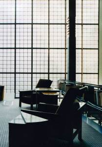 Maison de Verre, Paris by Pierre Chareau + Bernard Bijvoet, Image via catview | Yellowtrace