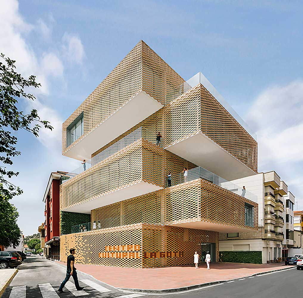 cultural center la gota by losada garcia yellowtrace