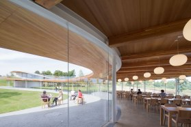 Grace Farms Pavilion by SANAA in New Canaan, USA | Yellowtrace