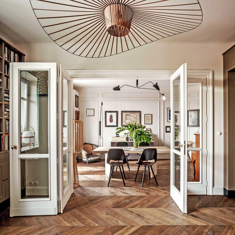 1930s warsaw apartment renovation by colombe design - Casas interiores decoracion ...