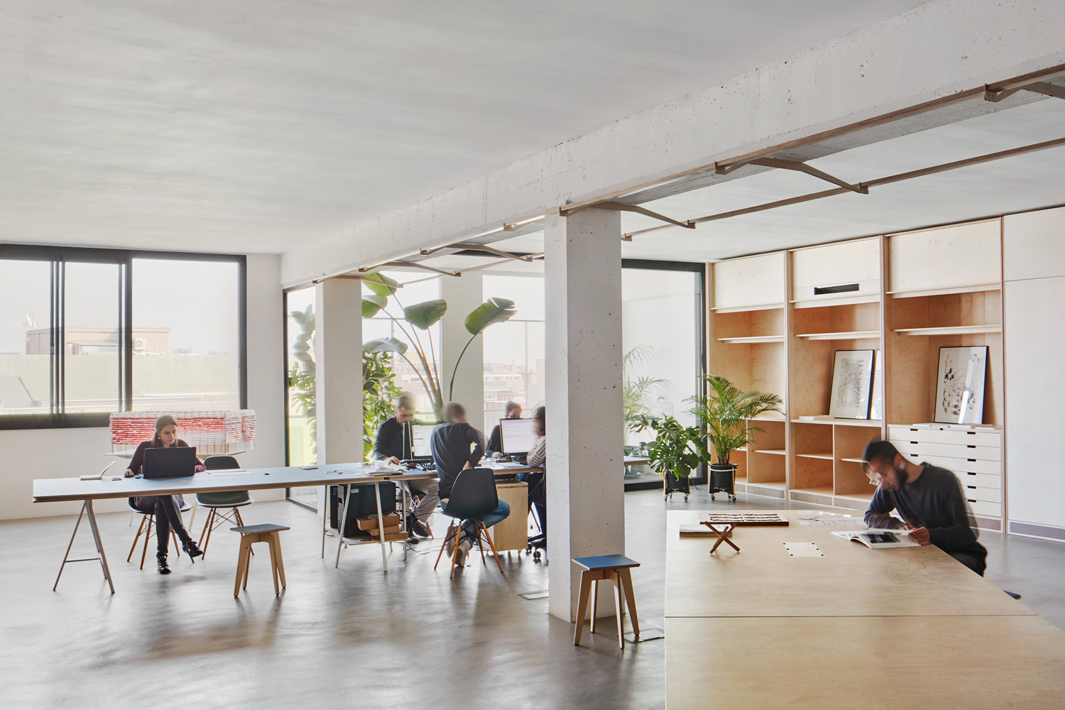 coworking space architecture