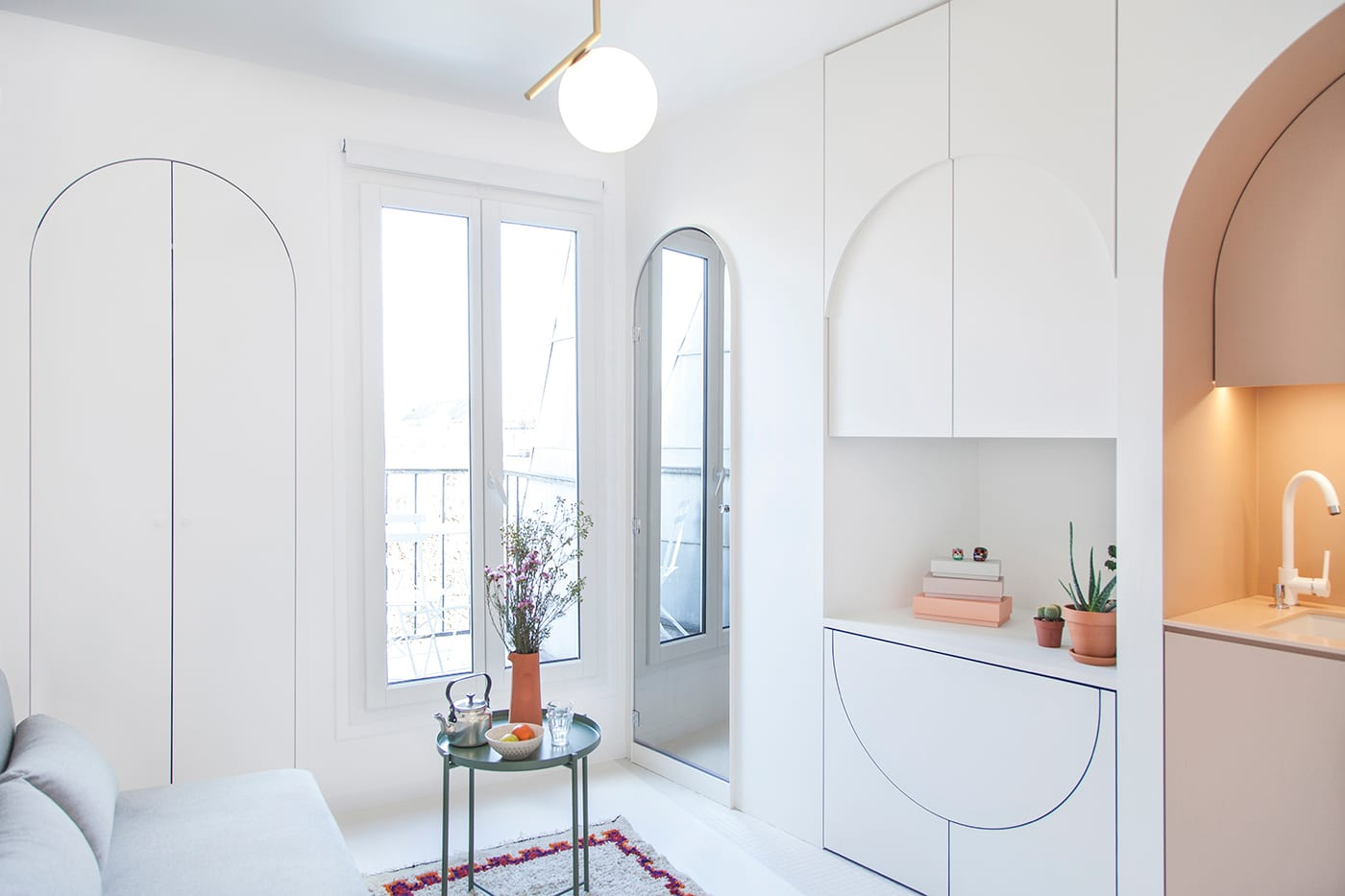 Micro Living Apartment 11m² Micro Apartment In Paris By Batiik Studio Yellowtrace