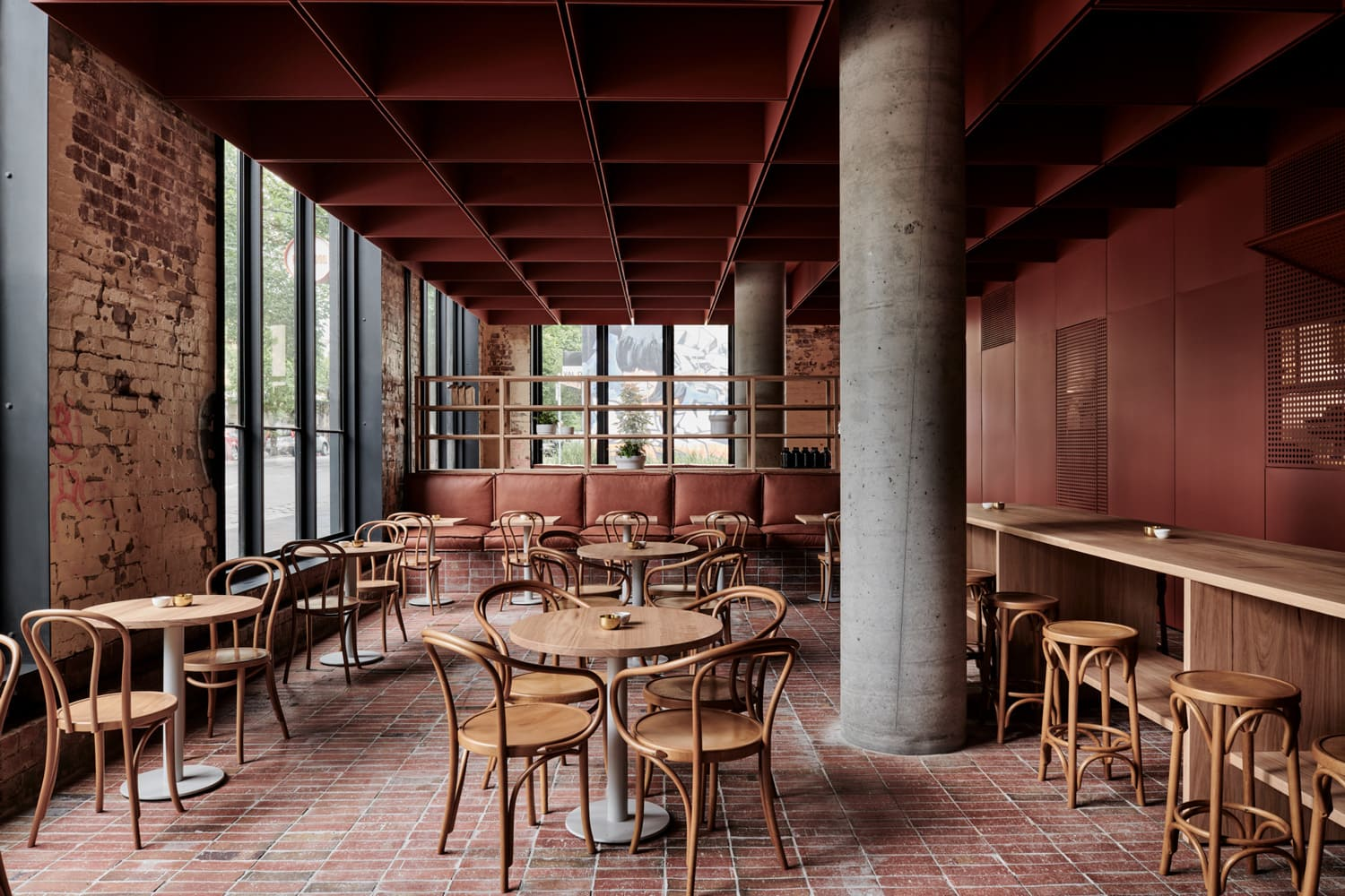 Bentwood Chairs Melbourne Bentwood Cafe In Fitzroy Melbourne By Ritz Andghougassian