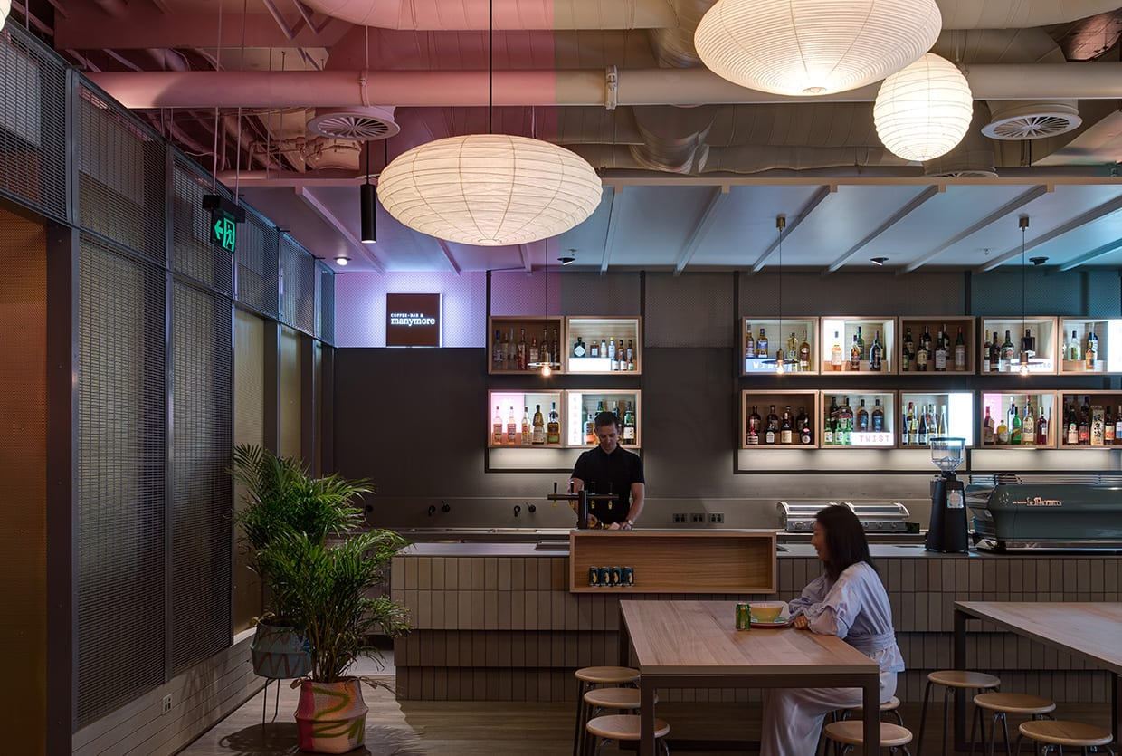 Paper Lanterns Melbourne Hwkr Food Centre In Melbourne By Craig Tan Architects Yellowtrace