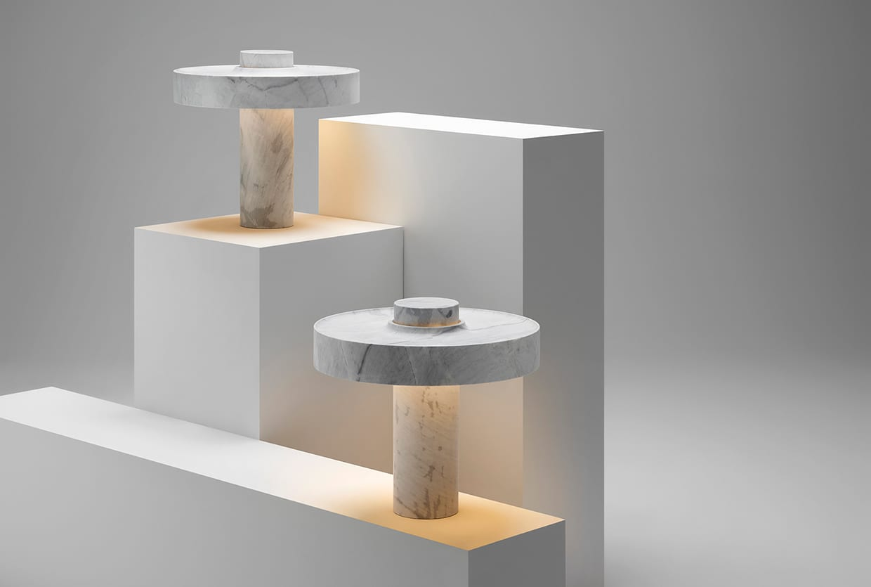 Lighting Shops Brisbane Ross Gardam S New Studio Space In Brunswick Marble Desk Lamp