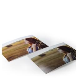 Small Crop Of Matte Vs Glossy Photo