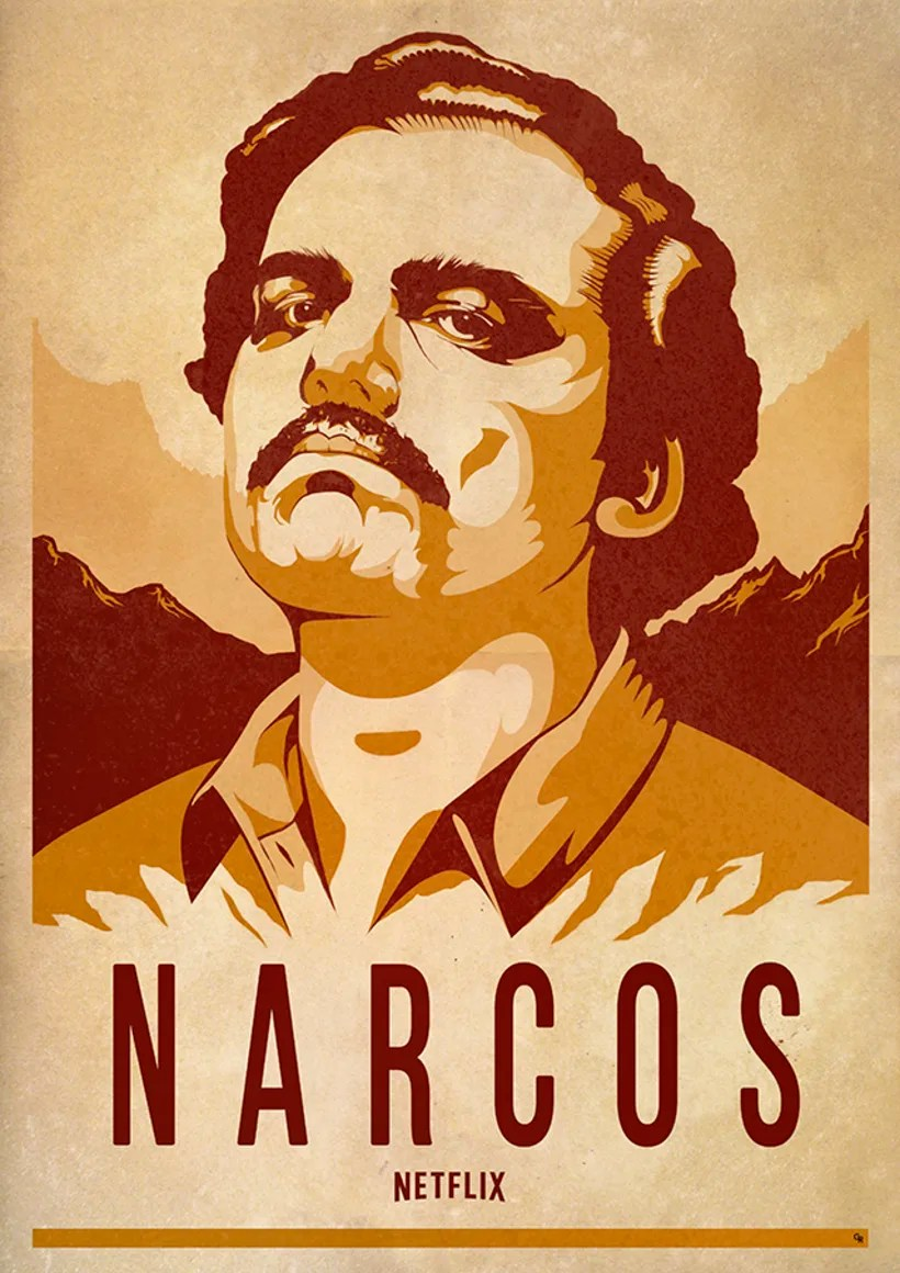 Gangster Wallpaper 3d Narcos Poster Artwork Domestika