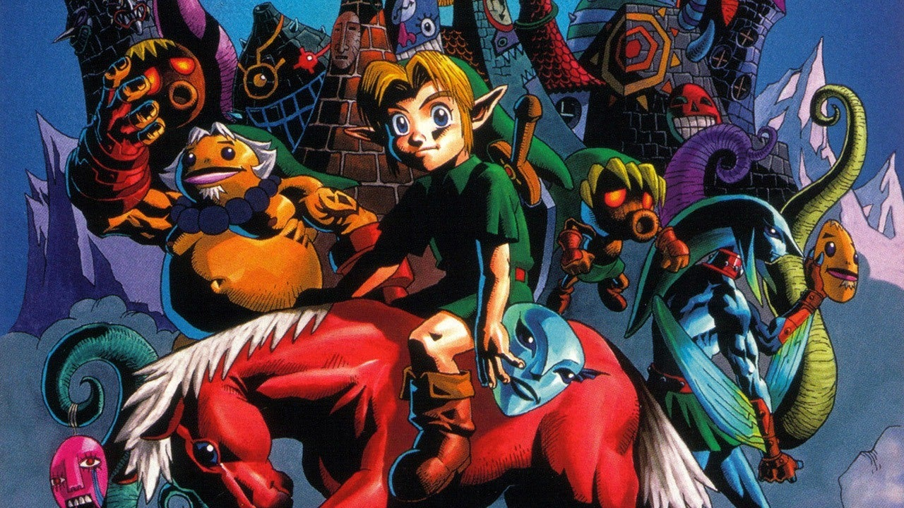 Majoras Mask 3d Wallpaper Hd Majora S Mask New 3ds Console And Release Date Revealed Ign
