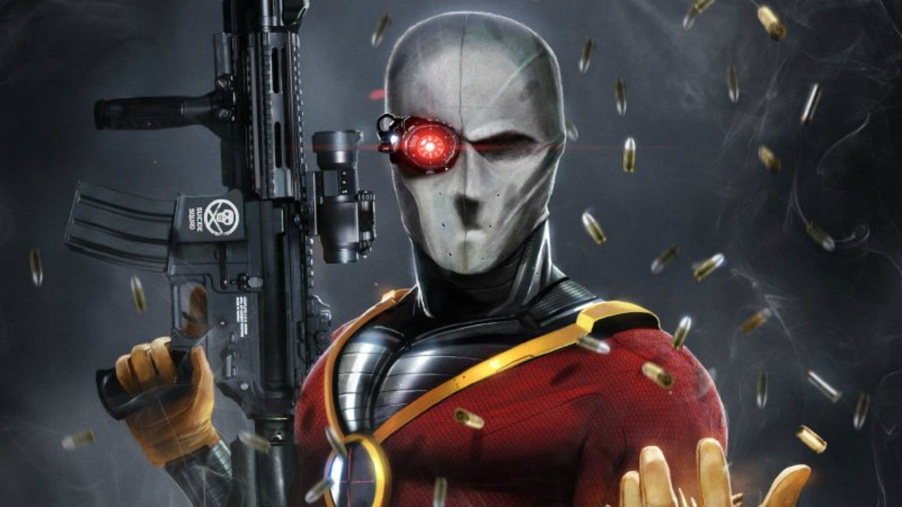 Hd Superhero Wallpapers For Pc Get Your Own Suicide Squad Deadshot Paintball Mask Ign