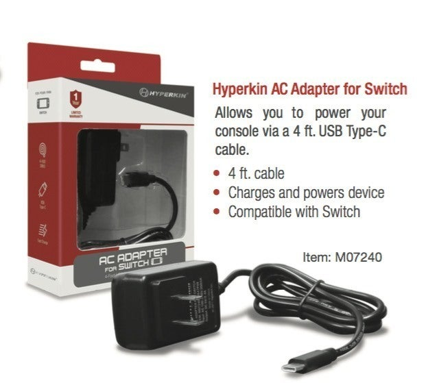 Retron 5 Adapter Master System 6 Nintendo Switch Accessories Announced By Hyperkin Ign