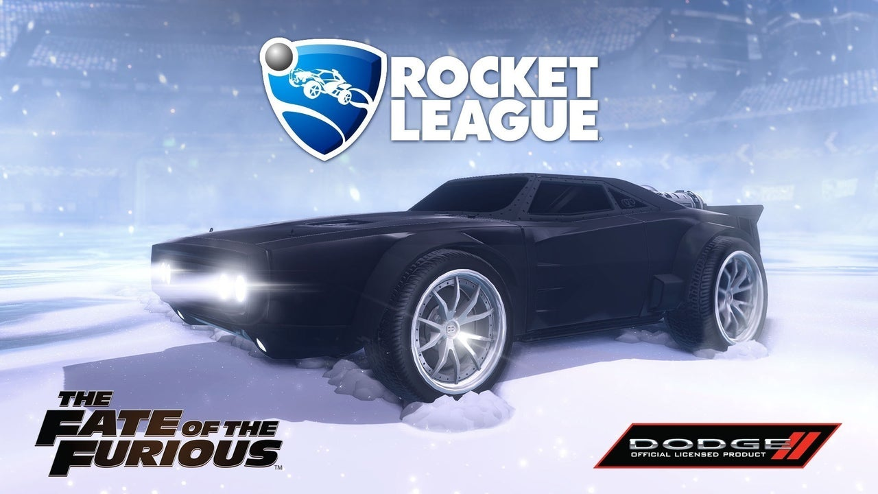 Fast And Furious Car Wallpaper Download Rocket League Fate Of The Furious Dlc Announced Ign