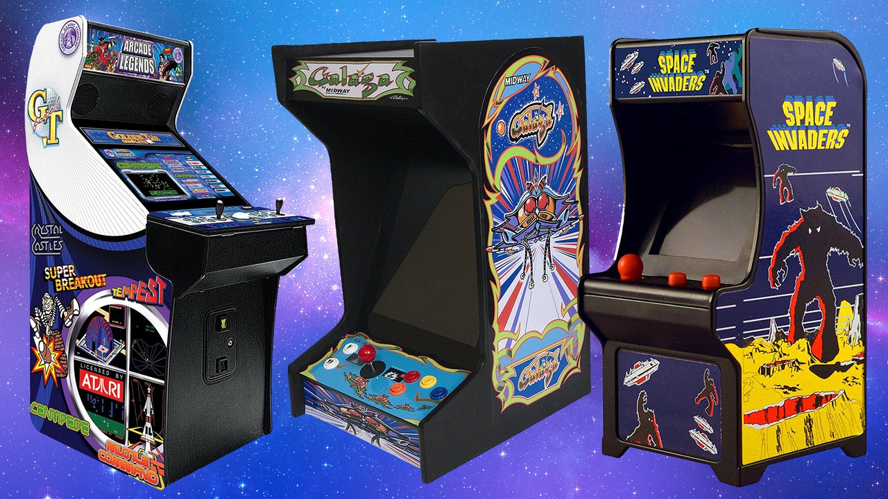Classic Table Arcade Games The Best All In One Arcade Game Cabinets 2019 Ign