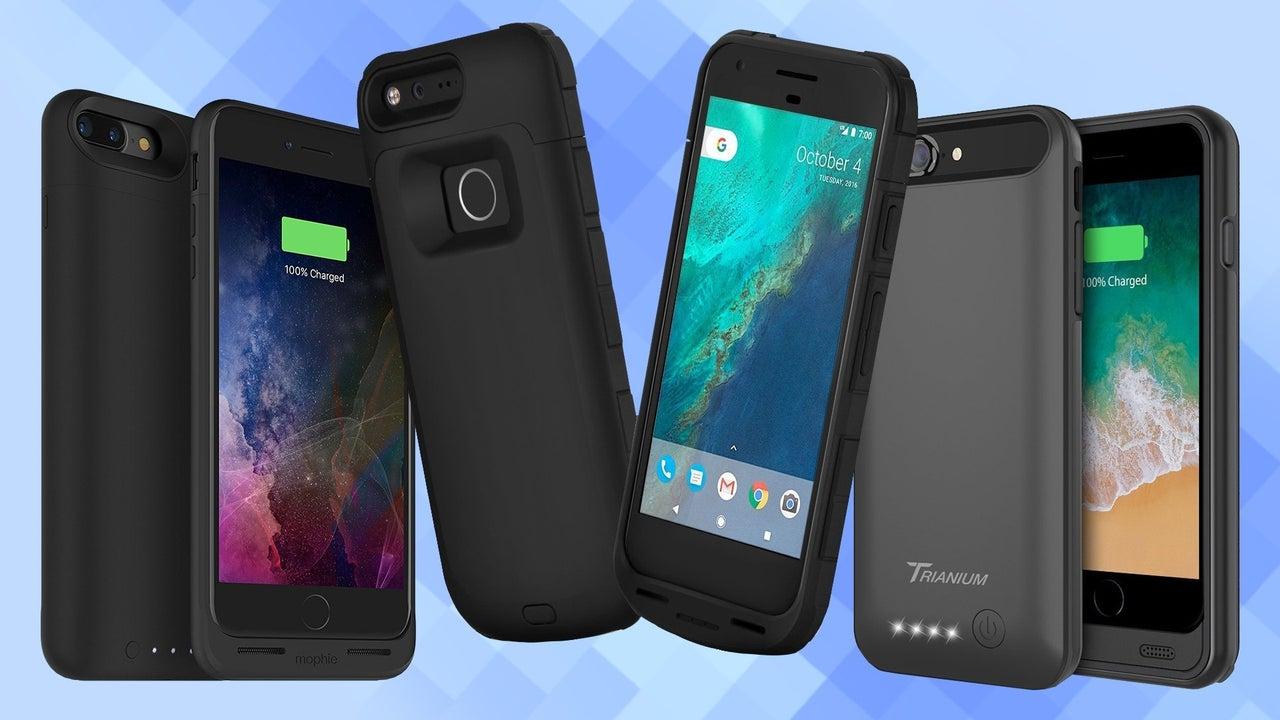 Smartphone Cases The Best Smartphone Battery Cases 2019 Ign