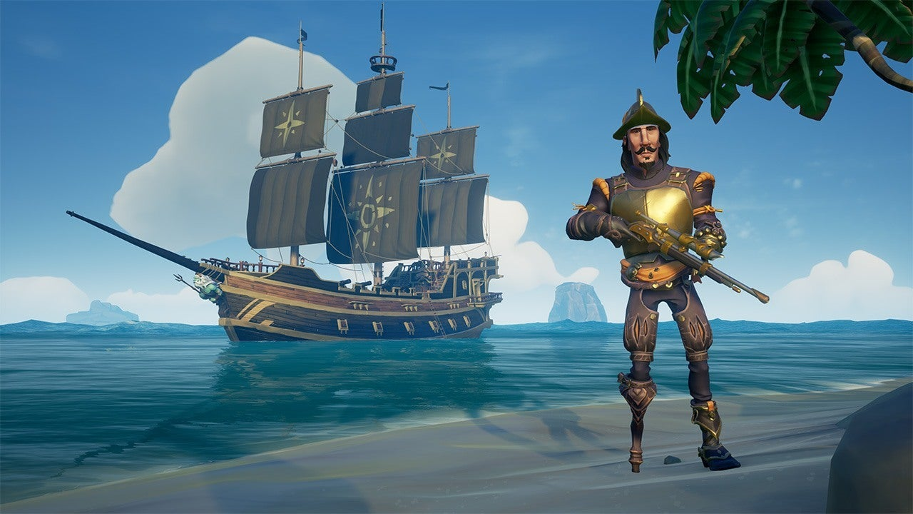 Skeleton Head Wallpaper 3d Sea Of Thieves Update Fixes Flying Ships Teases New