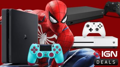 Black Friday Deals - PS4 with Spider-Man $199, Xbox One S $199, Xbox One X $399, DualShock $29 ...