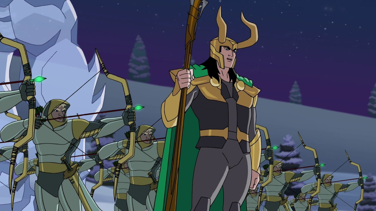 Avengers Assemble Wallpaper Hd Marvel S Super Hero Adventures Frost Fight Clip Loki