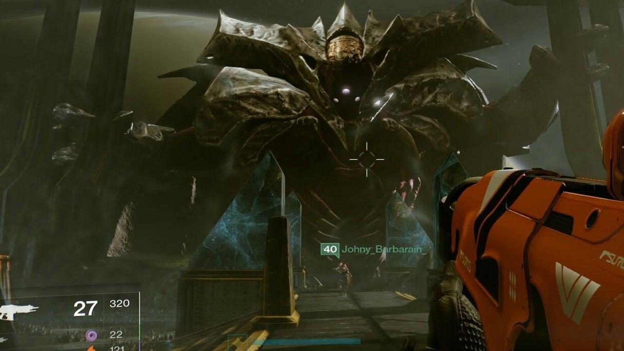 Destiny Kings Fall Wallpaper Destiny The Taken King The Oryx Raid Challenge From