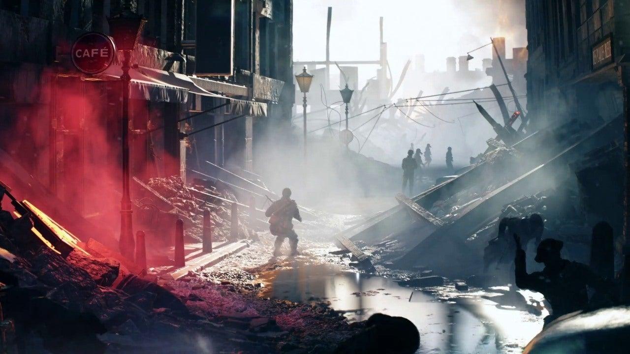 Diablo Hd Wallpaper Battlefield 5 Devastation Of Rotterdam Official