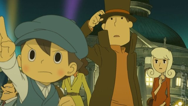 Ps3 Animated Wallpaper Professor Layton And The Miracle Mask Video Review Ign