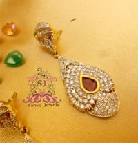 Buy Diamond look Changeable Earrings Online