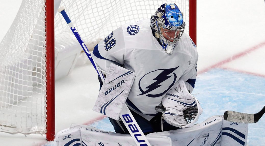 Kucherov Stats Lightning's Vasilevskiy Replaces Canadiens' Price On All