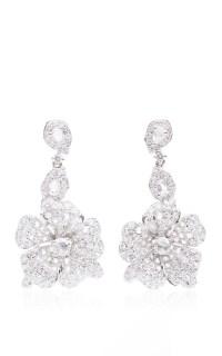 Duchess Hibiscus Rose Cut Diamond Earrings by Anna Hu ...