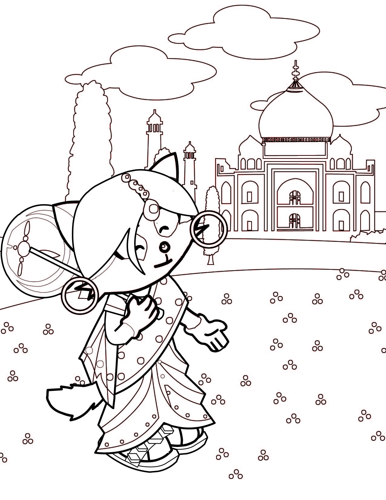 Gallery of princess world coloring pages