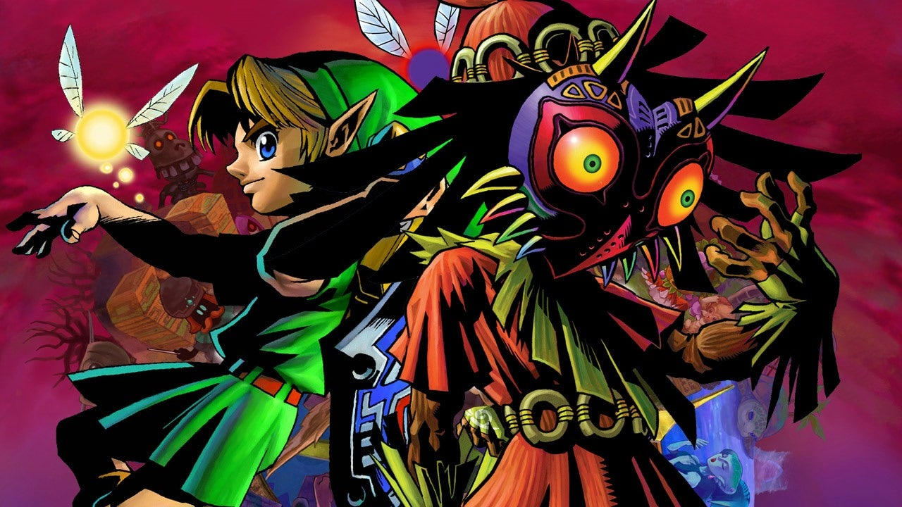 Majoras Mask 3d Wallpaper Hd 9 Things You Didn T Know About Zelda Majora S Mask 3ds Ign