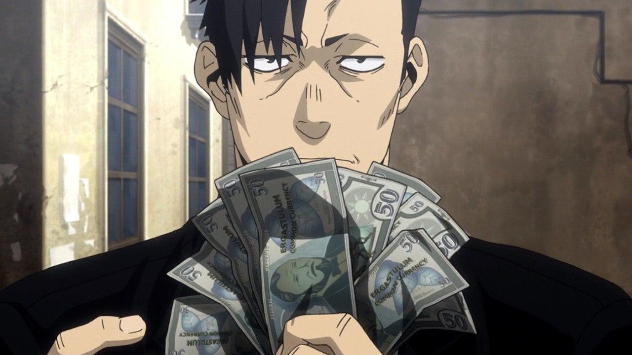 Girl Holding Money Wallpaper Gangsta Episode 1 Review Ign