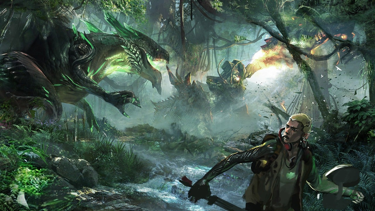 Dragon Ball Wallpaper Hd Scalebound Platinum Action With Deep Rpg Systems Ign