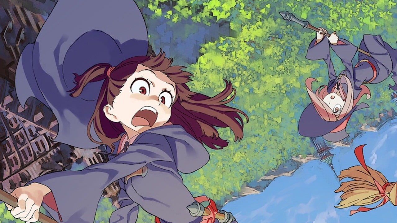 Gravity Falls Fan Art Wallpaper Little Witch Academia Anime Tv Series Coming To Netflix Ign
