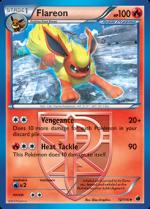Flareon Pokemon Card