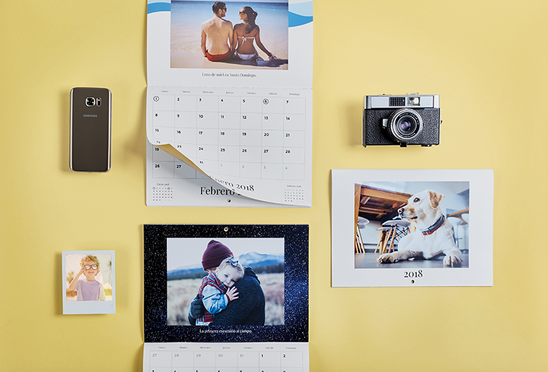 Make your own calendar with photos!