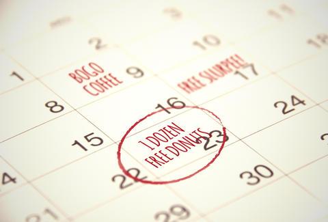 Free Food Holidays - National Pancake Day, Free Slurpee Day, and