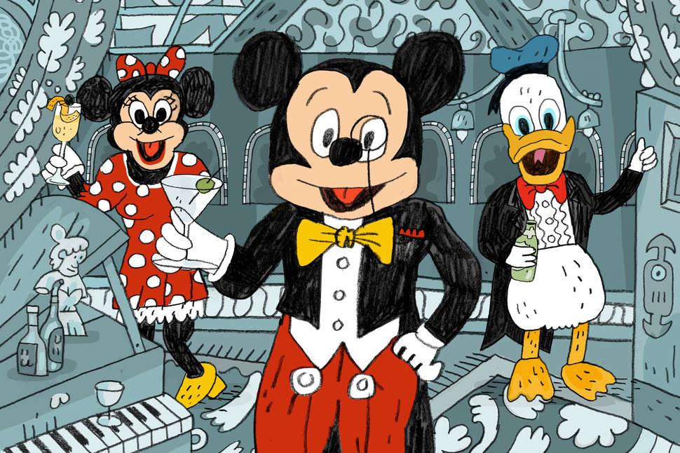 Disney Club 33 How to Get Into Disneyland\u0027s VIP Bar and Restaurant